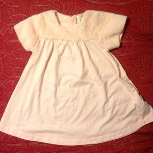 *2for$5 Jessica Simpson Girl Faux Fur Trim Dress 6